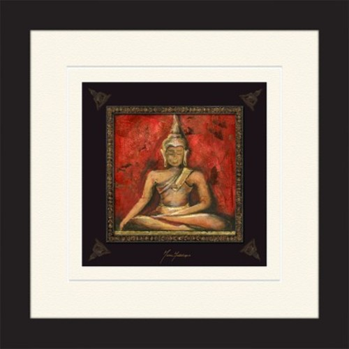 Sitting Buddha Framed Art