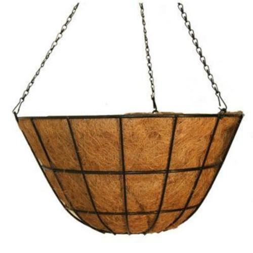 Vigoro 20 in. Metal Coco Hanging Basket