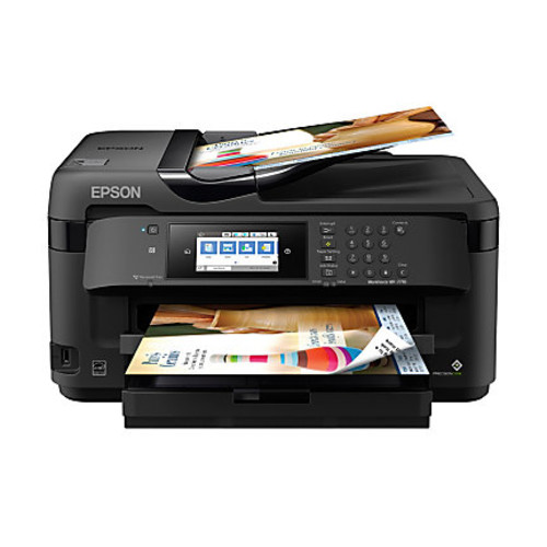Epson WorkForce WF-7710 Wireless Color 19