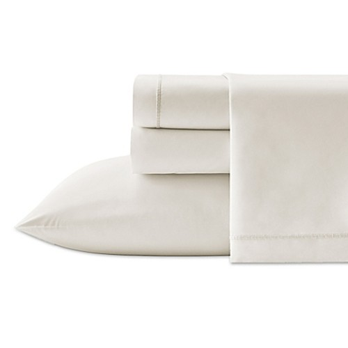 Vera Wang Passimenterie Queen Fitted Sheet in Natural