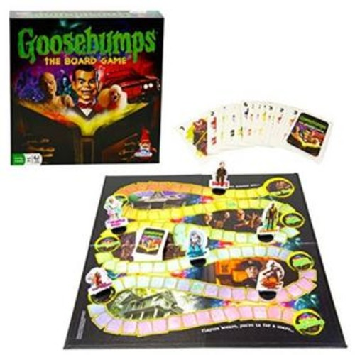 Outset Media Goosebumps Party Game - Board Game based on the Goosebumps Movie