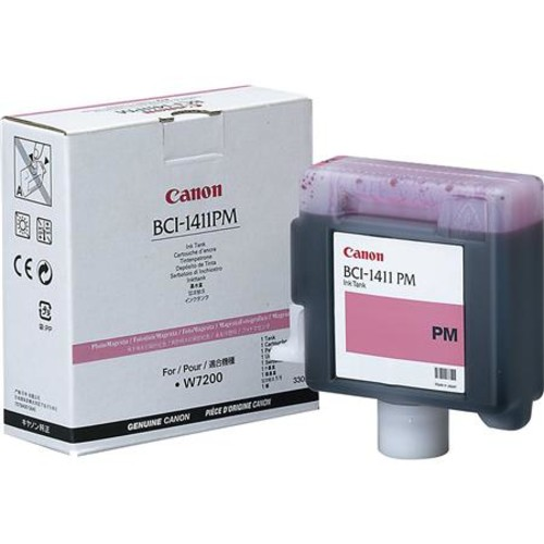 Canon BCI-1411 330ml Photo Magenta Ink Tank for W7200/W8200/W8400D Printers