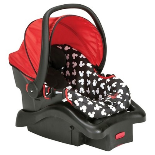 Disney Light 'n Comfy Luxe Infant Car Seat, Mickey Silhouette