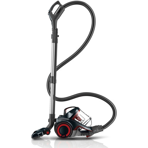 Dirt Devil - DASH Bagless Canister Vacuum - Gray