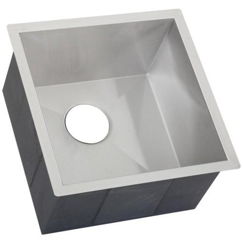 Ticor 17.25-inch 16-gauge Stainless Steel Single Bowl Undermount Kitchen Bar Sink