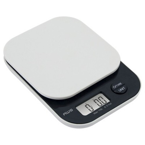 AWS Digital Kitchen Scale - White