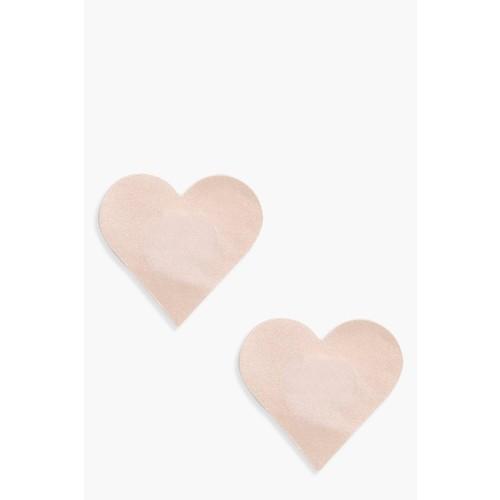 Nadia Heart Shape Fabric Nipple Covers