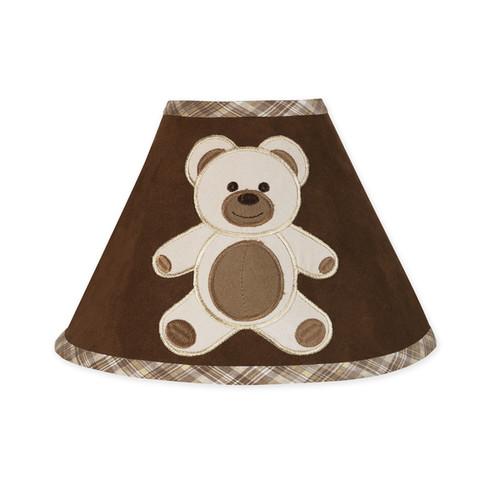 Sweet JoJo Designs Chocolate Teddy Bear Lamp Shade