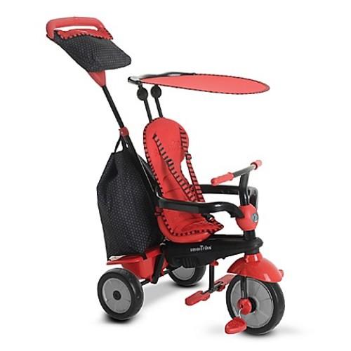 smarTrike 4-in-1 Glow Trike in Red