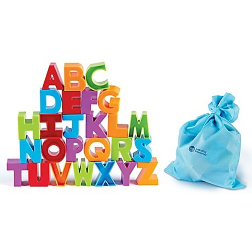 Learning Resources 36-Piece Letter Blocks