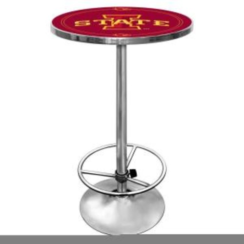 Trademark Iowa State University Chrome Pub/Bar Table