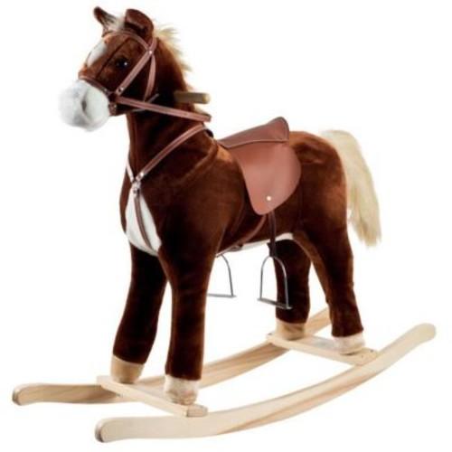 Happy Trailst Plush Rocking Horse (Poker15382)