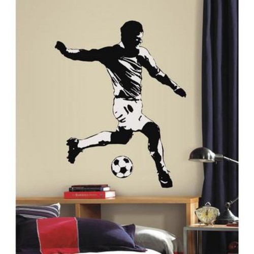 Peel & Stick Giant Wall Decals - Soccer Player