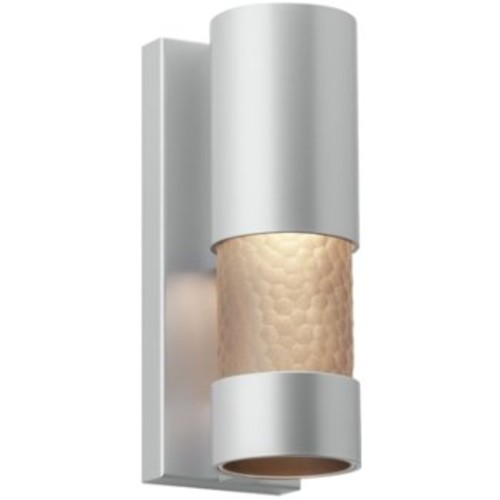 Moon Dance Outdoor Wall Sconce [Light Option : LED; Finish : Silver]