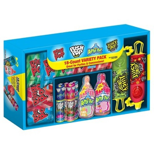 Ring Pop Lollipop and Hard Candy Variety Pack - 18ct