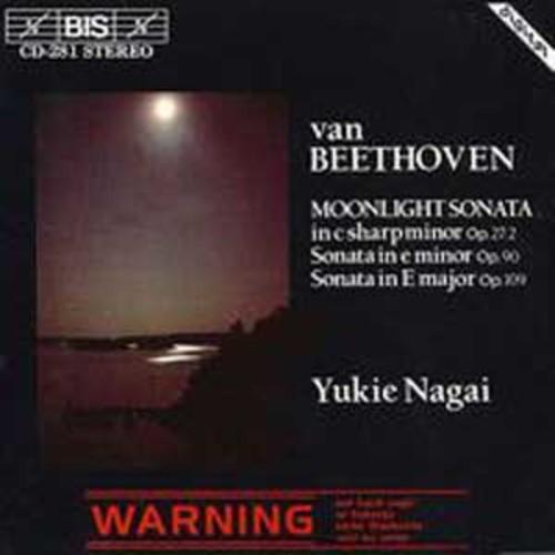 Beethoven: Moonlight Sonata; Piano Sonatas, Opp. 90 & 109 By Yukie Nagai (Audio CD)