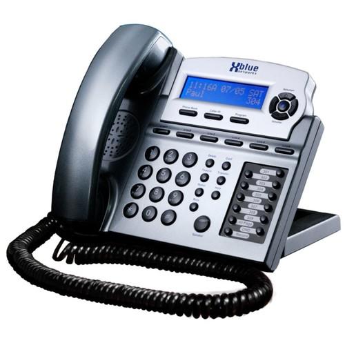 XBLUE Networks X16 Corded Telephone System, Titanium Metallic