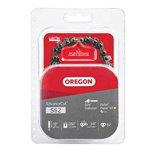 Oregon S62 18-Inch Semi Chisel Chain Saw Chain Fits Craftsman, Homelite, Poulan [1]