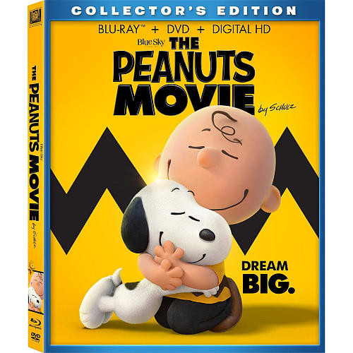 The Peanuts Movie Collector's Edition Blu-Ray Combo Pack (Blu-Ray/DVD/Digital HD)