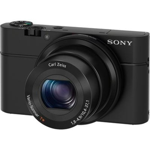 Sony Cyber-shot DSC-RX100 Large-sensor compact digital camera with 20.2-megapixels and an f/1.8 Carl Zeiss lens