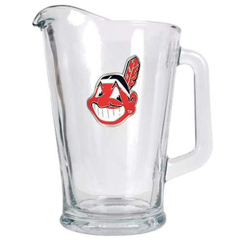 Cleveland Indians Glass Pitcher