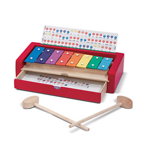 Melissa & Doug Learn-To-Play Xylophone, Pre-K - Grade 1