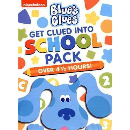 Blue's Clues: Get Clued Into School Pack (DVD)