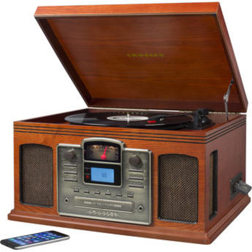CR2405D-PA Director CD Recorder with Turntable, AM/FM Radio, and Bluetooth