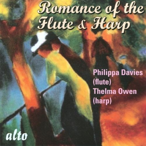 The Romance of the Flute and Harp [CD]