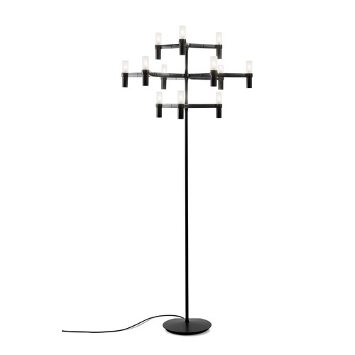 Crown Floor Lamp [Finish : Black]
