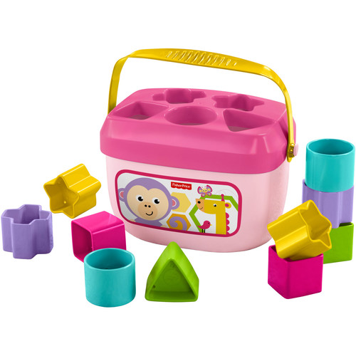 Fisher-Price Baby's First Block Playset - Pink