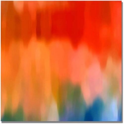 Amy Vangsgard 'Abstract Watercolor' Canvas Art