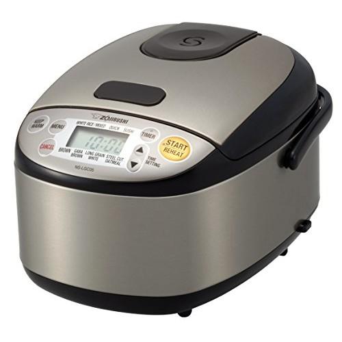 Zojirushi Micom Rice Cooker & Warmer - Stainless Black
