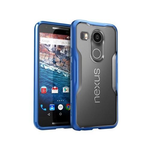 SUPCASE Nexus 5X Unicorn Beetle Hybrid Bumper Case - Frost/Blue