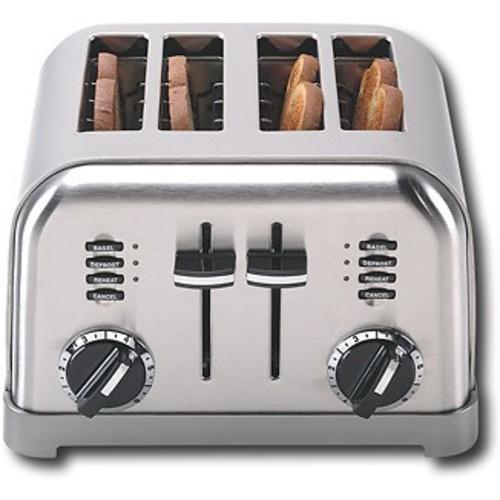 Cuisinart CPT-180FR 4-Slice Metal Classic Toaster (Certified Refurbished)