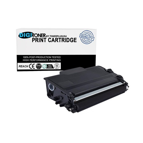 DigiToner Replacement For Brother TN880 TN-880 Super High Yield Toner Cartridge For MFC-L6700DW MFC-L6800DW HL-L6200DW HL-L6200DWT HL-L6300DW (1 Pack)