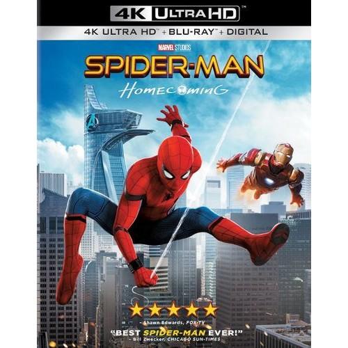Spider-Man: Homecoming [Includes Digital Copy] [4K Ultra HD Blu-ray/Blu-ray] [2017]
