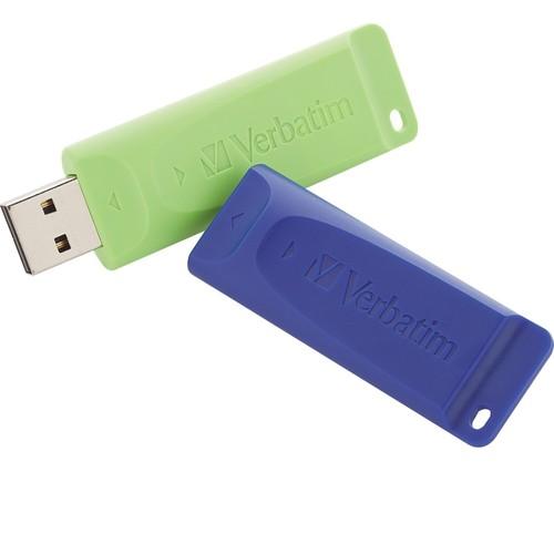 Verbatim - 32GB Store 'n' Go USB 3.0 USB Flash Drive - Blue