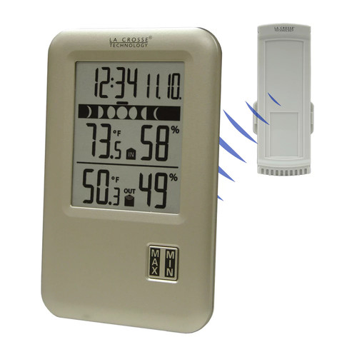 La Crosse Technology WS-9066U-IT Wireless Weather Station with Moon Phase [1]