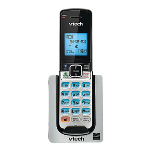 VTech DS6600 DECT 6.0 Expansion Handset For VTech DS6611 And DS6621 Series Expandable Phone Systems