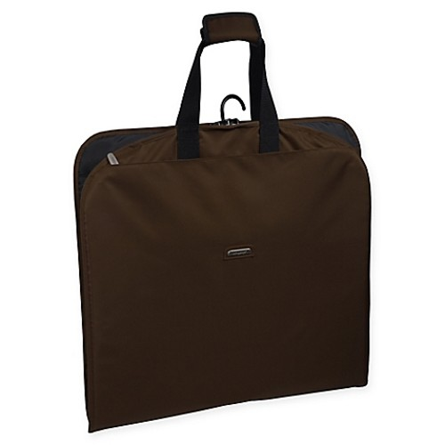 WallyBags 45-Inch Slim Garment Bag in Brown