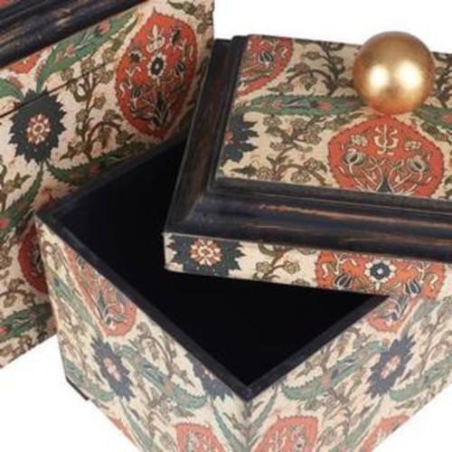 Large Vintage Keepsake Box