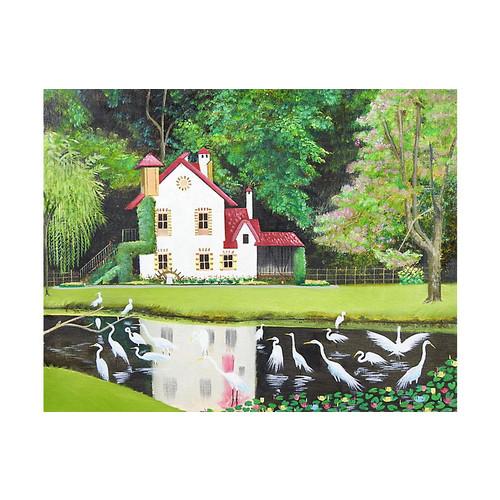 Fairytale Cottage by Sandra Barnett