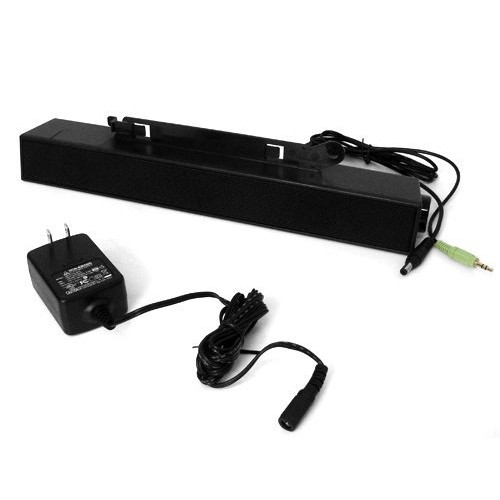Dell C730C SoundBar Speakers AX510+AS510PA with Power Adapter for Dell UltraSharp - Black