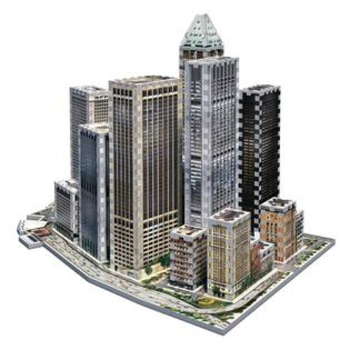 Wrebbit Puzzles 2013 Financial District New York Collection 3D Jigsaw Puzzle - 925-Piece