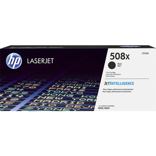 HP 508X High-Yield Toner Cartridge Black