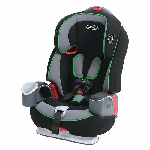 Graco Nautilus 65 3-in-1 Harness Booster Car Seat, Fern [Fern]