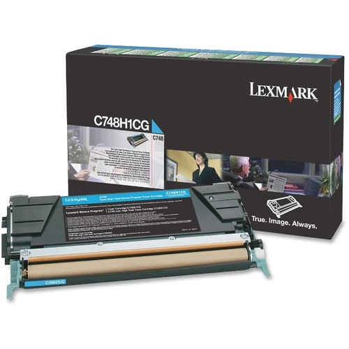 Lexmark CYAN TONER CARTRIDGE FOR C748
