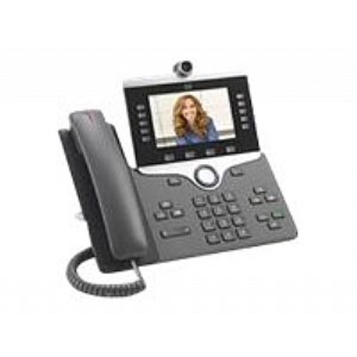 Cisco IP Phone 8865 - IP video phone - digital camera, Bluetooth interface - IEEE 802.11a/b/g/n/ac