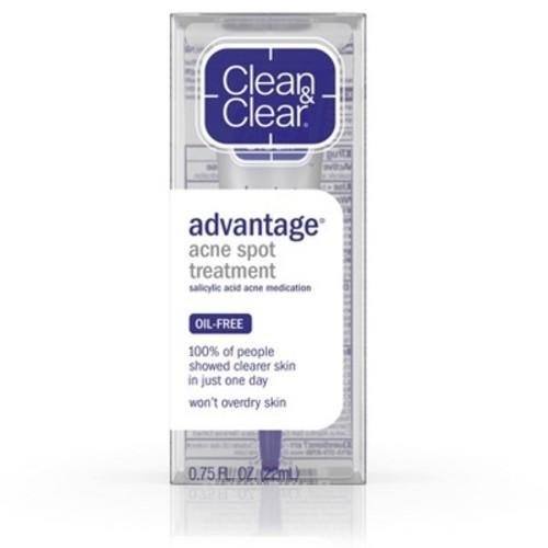 Clean & Clear Advantage Acne Spot Treatment, Acne Medication, .75 Oz. [Pack of 1, Acne Spot Treatment]